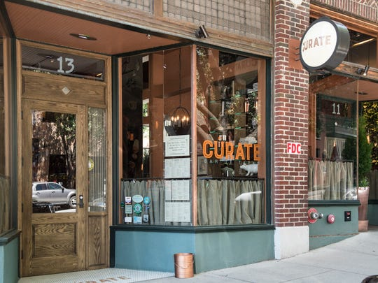 The expansion of Curate Tapas Bar at 13 Biltmore Ave.