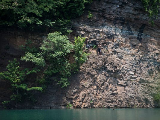 Popular Knoxville area swimming holes carry risk, rewards for swimmers