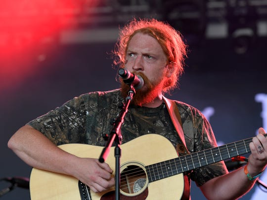 Tyler Childers performs at the Bonnaroo Music and Arts