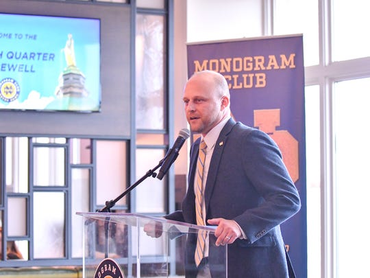 Brant Ust, who has served as Assistant Athletics Director and Executive Director of the Monogram Club at the University of Notre Dame, has been named an Associate Athletics Director for Administration at Auburn.