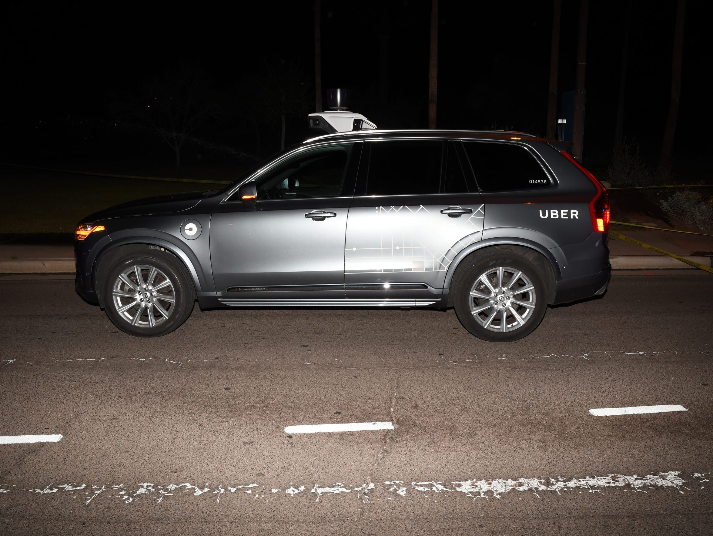 Tempe police released photographs from the pedestrian