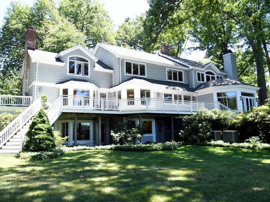 A home on Sunset Lake is on the market for $2.45 million dollars in Mountain Lakes, NJ.