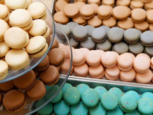 An assortment of macarons from A La Mode Macaron in