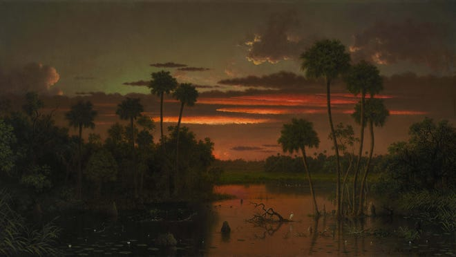 "Martin Johnson Heade's ""The Great Florida Sunset"" sold for $5.85 million."