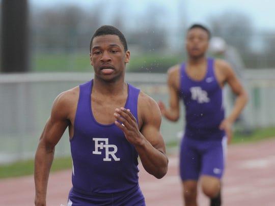 Fremont Ross grad Jeffery Barnett is now an All-American long jumper for Trine University.