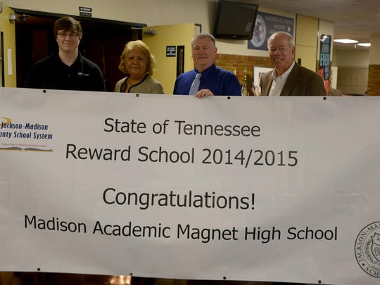 Madison Academic Magnet High School was named a Reward School for 2014-2015.