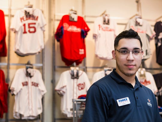 Regardless of whether the Phillies' woes have resulted in an Opening Day drop-off at Delware bars and restaurants, it hasn't impacted the sale of team merchandise, said Ramon Torres, the manager at Fanzz Sports Apparel in the Christiana Mall.