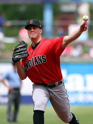Former McCutcheon High School star, Indiana Mr. Baseball, Clayton Richard tossed five scoreless innings in an Indians win over Pawtucket Wednesday.