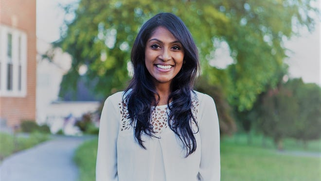 Krishanti Vignarajah is a Democratic candidate for governor of Maryland for 2018.