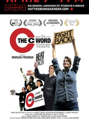 """The Historic Hattiesburg Saenger Theater will show """"The C-Word"""" at 7 p.m. April 7."""