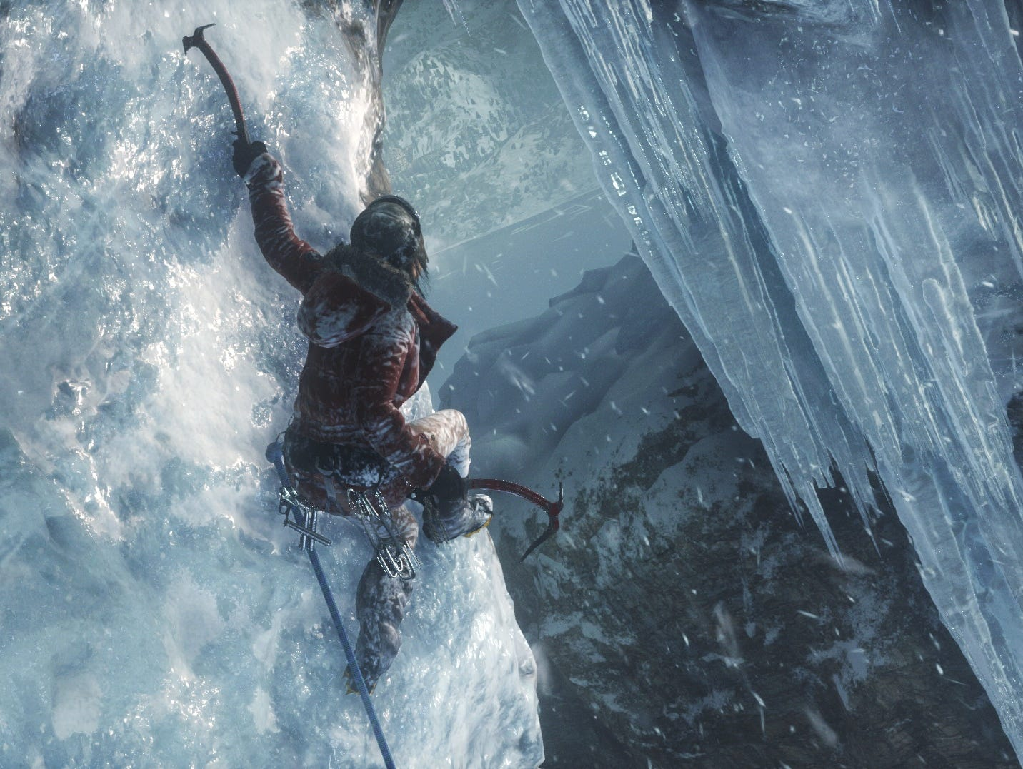 A scene from 'Rise of the Tomb Raider.'