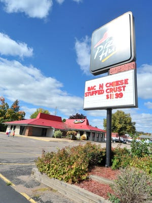 Pizza Hut, shown here on Sept. 21, 2014, closed this restaurant on First Avenue in Wausau to open a new, smaller location on 17th Avenue.