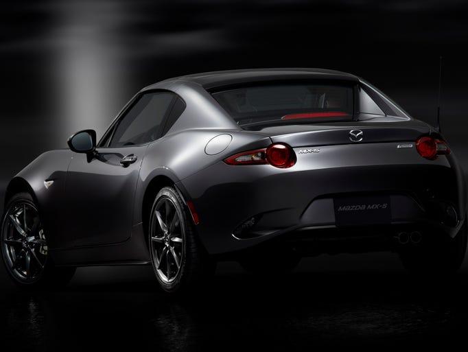 Mazda unveiled its new MX-5 Miata hardtop convertible
