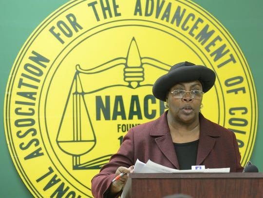 Mary Ashanti is head of the Wicomico County NAACP chapter.