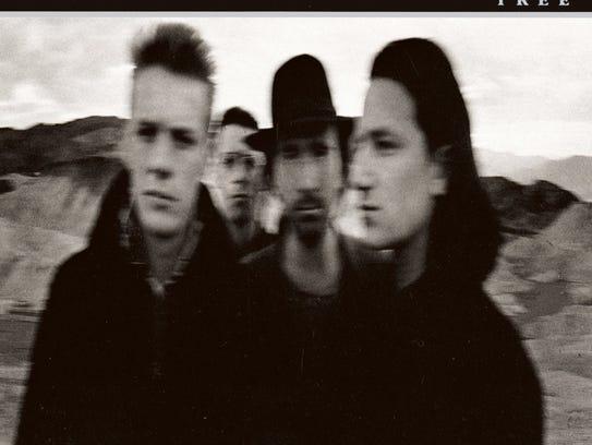 The Joshua Tree by U2, album cover.