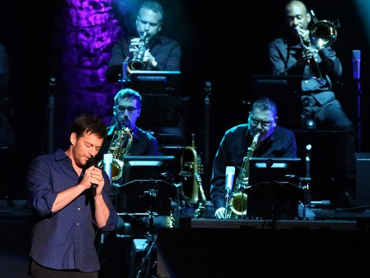 Vocalist, pianist and composer Harry Connick Jr. entertained a sold out audience in 2016 at the Plaza Theatre.