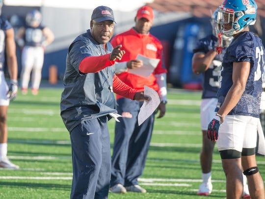 Wesley McGriff left Auburn to return to Ole Miss as
