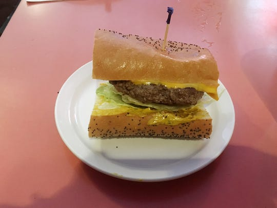 Rotier's Restaurant is known for its cheeseburger on French  bread