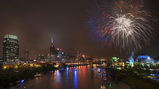 Nashville's Independence Day festivities will include two days, three stages and 15 live music acts — all free and open to the public at a new location at Ascend Amphitheater and The Green at Riverfront Park in downtown.