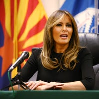 Melania Trump softens husband's blunders on family separation policy
