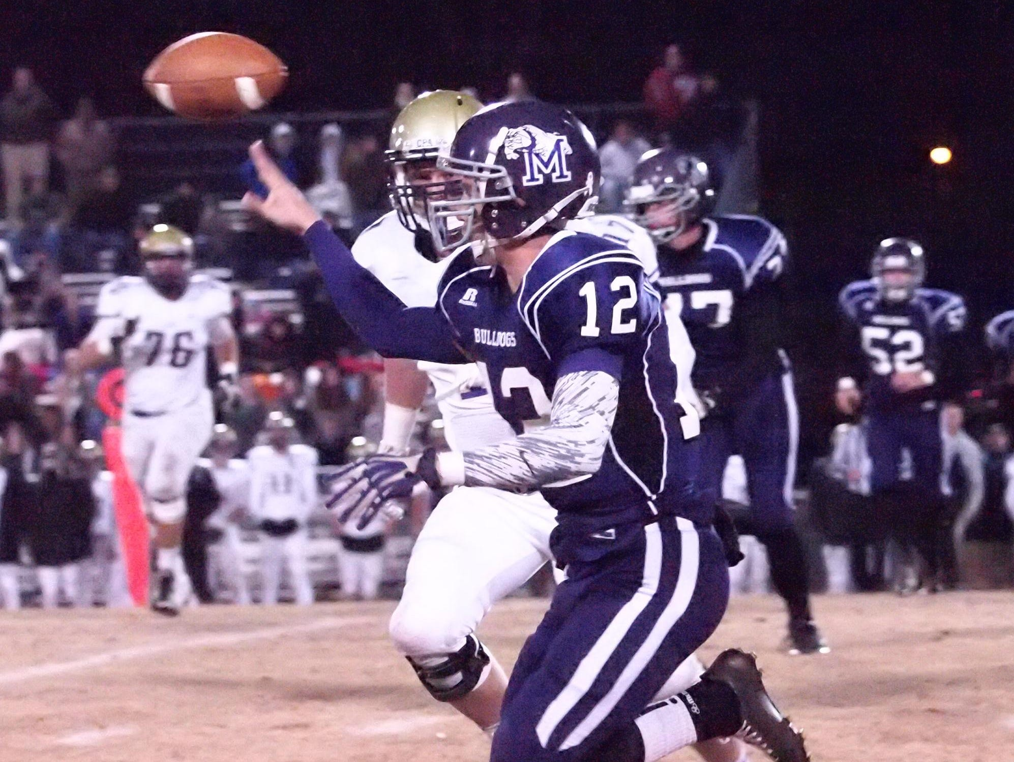Milan quarterback Landon Walker returns to help the Bulldogs this fall.