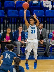 Junior forward Rosemarie Julien poured in an FGCU Division I-record 36 points in the previous Eagles-Stetson matchup, an 84-71 FGCU win in DeLand on Jan. 7.