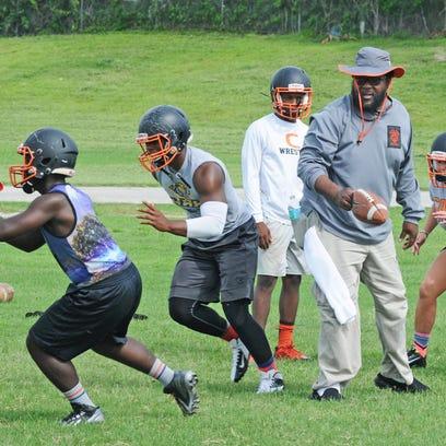 Cocoa high football practice
