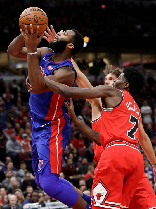 Andre Drummond, Justin Holiday, Robin Lopez