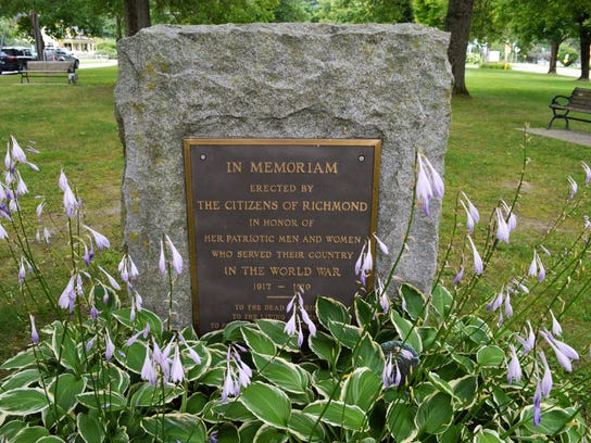 A monument in Richmond honors the local men and women