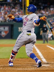 Mets' Yoenis Cespedes follows through on his third