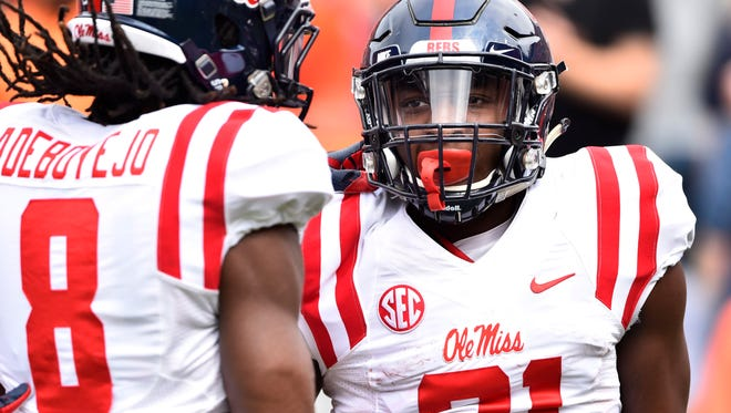 Ole Miss running back Akeem Judd has run for 382 yards and three touchdowns this season.