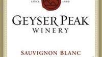 Label for 2004 Geyser Peak Sauvignon Blanc.