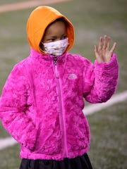 In a file photo from Nov. 6, 2014, Leah Still, daughter