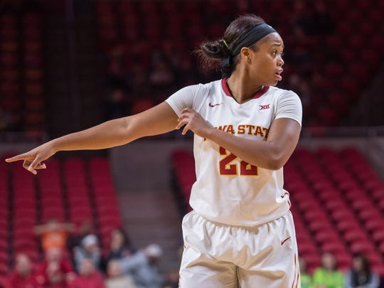 Iowa State guard TeeTee Starks has a lot to be thankful for this holiday.