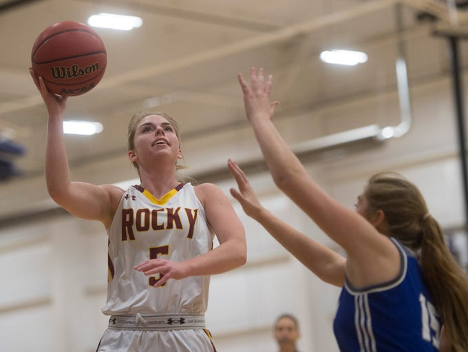 Kiley Towne of Rocky Mountain High School moves in