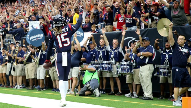 Texans wide receiver Will Fuller has seven touchdown receptions in four games.