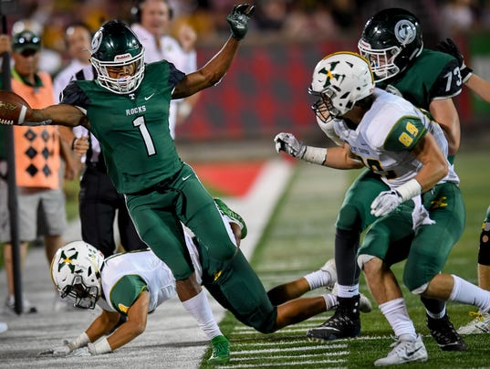 Class 6A football playoff preview/pick   Trinity at ...
