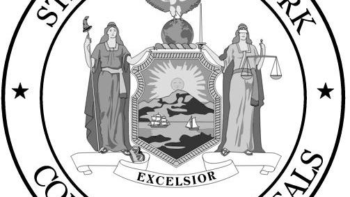 The seal of the New York State Court of Appeals
