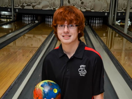Southridge bowler Cole Bieker