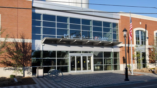 West Florida Public Library main branch on Spring Street.