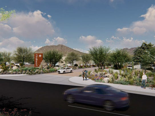 The Trailhead, a commercial project on 83rd Avenue