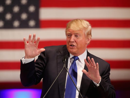 BESTPIX - Donald Trump Holds Event To Benefit Veterans On Night Of GOP Debate