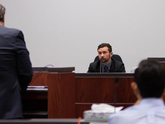 Witness Nick Pletke testifies at the Steven Jones trial