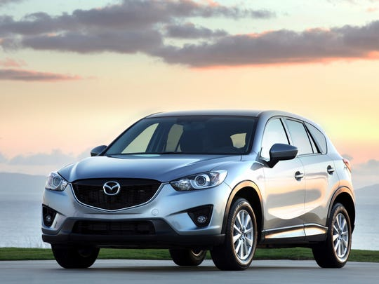 This photo provided by Mazda shows the 2015 Mazda CX-5,
