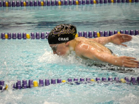 Elmira Notre Dame graduate Molly Craig swims for Williams