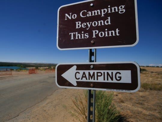 The new campground at Farmington Lake features 21 spaces that can be used at a rate of $10 per night.