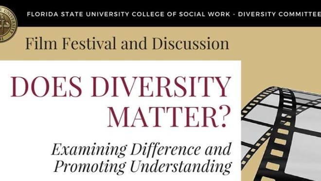"The FSU College of Social Work presents film festival and discussion, ""Does Diversity Matter?"""