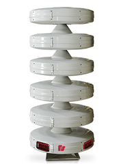A Federal Signals emergency siren like those installed