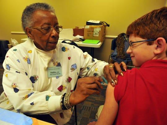 Flu shots at Wayne County Health Department
