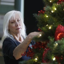 Decking the halls at Lambeau is no small feat